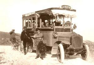 Ligne La Salvetat-Béziers en 1908